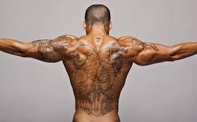 если сделать татуировку на худые руки а потом накачаться что будет