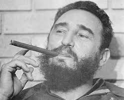 fidel castro. Castro with an ethical cigar. tobacco yes again that is unethical and lastly alcohol, what you talking about Willis! To bunch alcohol up there ... - fidel-castro-sm