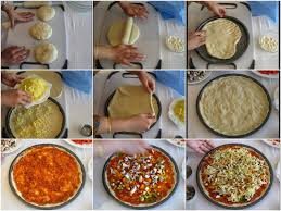 How To Cook A Pizza Cook With Priyanka Cheese Burst Pizza Dominos Style