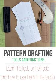 Pattern Drafting Beauteous Pattern Drafting Basic Tools And Their Function Sewing