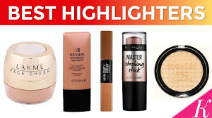 9 best face highlighters in india with