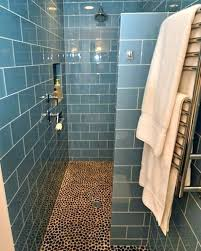 tile showers without doors showers without glass blue ceramic floor for modern shower designs without doors tile showers without doors