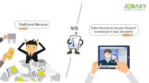 Job Trends 2018 Traditional Resume Vs Video Resumes