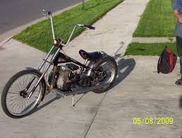 mini chopper with new old school drive system motored bikes