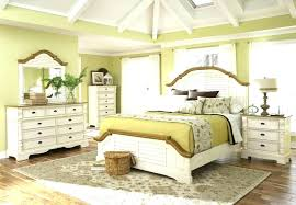 Distressed White Bedroom Furniture Set Cheap Antique Sets Wooden ...