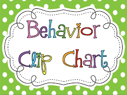 Free Behavior Charts For 2nd Graders Kinderkids Fun Free Polka Dot Behavior Clip Chart 2nd