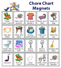 Make Your Own Responsibility Chart Make A Magnetic Checklist For Your Kids Chore Chart Kids