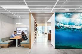 dropbox corporate office. Opposite A Meeting Nook, Custom-printed Textured Film Reproduces Photograph By Eugene Tan. Photography Katherine Lu. Dropbox Corporate Office S