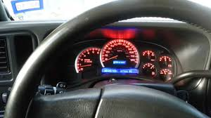 2003 avalanche instrument cluster repair and led - YouTube