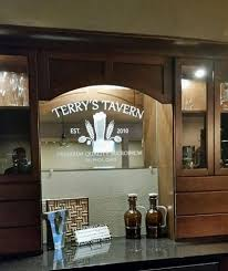 custom bar mirrors other personalized