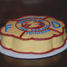 Firefighters Grooms Cake My Style Firefighter Birthday Cakes