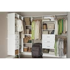 allen roth closet for your interior organizer design attractive clothes organizer using allen roth white