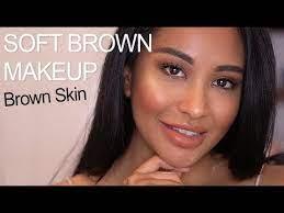 brown skin makeup tutorial everyday