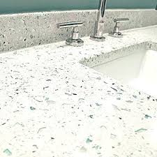 sea glass countertop sea glass i love this counter its a mix of cement sand pebbles sea glass countertop