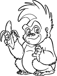 Small Picture Trek Banana Coloring Page Wecoloringpage