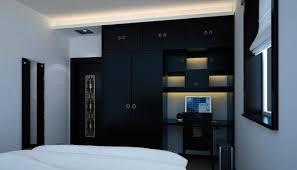 chinese bedroom furniture. White Walls Black Furniture Chinese Neo Classical Bedroom