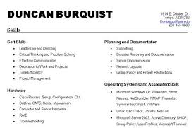 Lists Of Skills For Resume List Of Skills For Resume Best Template