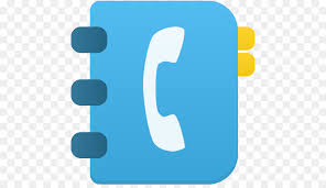 Blue Text Symbol Brand Phonebook Png Download 512 512 Free