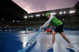 australian open roof australian open after heat rain interrupts play the indian express