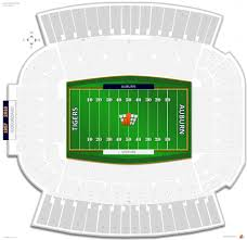 Auburn Seating Chart With Rows Jordan Hare Stadium Seating Chart Seating Chart