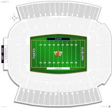 Jordan Hare Stadium Seating Chart Seating Chart