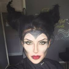 maleficent makeup hair by