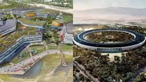 new google office. Then You Go To The Beautiful Norman Foster Designed Apple Headquarters, Where Numbers Vary But According Project Description Filed With City Of New Google Office 0