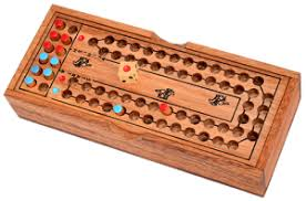 Wooden Horse Racing Dice Game wooden games shop 85