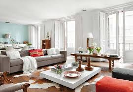 glamour living room design by vintage spain house