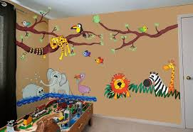 image of jungle wall decals rainforest on baby room jungle wall art with jungle wall decals animal design idea and decorations baby room