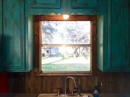 turquoise shabby chic furniture teal painted kitchen cabinets light rustic yellow colors with the best grab