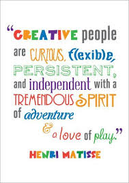 Quotes On Creativity Inspiration CREATIVITY IS GOOD FOR YOU Inspirational Quotations Pinterest