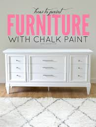 Attractive Chalk Paint Furniture Ideas and Chalk Paint Furniture