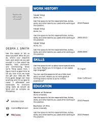 Types Of Skills For Resume Cover Letter Online Resume Templates Free Best Free Online Resume 91