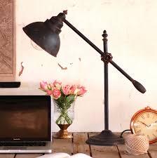 industrial steel desk table lamp