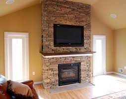 mounting a tv above wood burning fireplace image collections