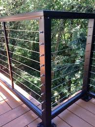 cable deck railing diy to trend stainless steel cables for deck railing ideas cable deck railing diy