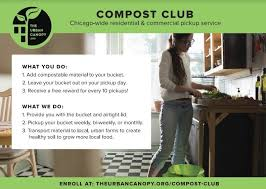 the andersonville community compost program is a community focused food ss collection service provided in partnership with the urban canopy