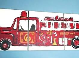 fire truck wall art fire truck wall art similar to vintage fire truck wall art canvases