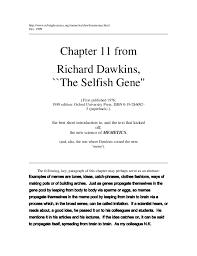Memes, The New Replicators - Richard Dawkins via Relatably.com
