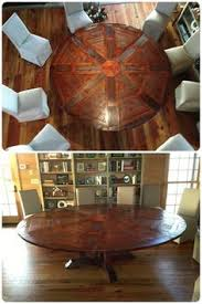 expanding round table. As Well A Hell Of Great Round Table!, South Carolina Another Happy Western Heritage Furniture Expandable Table Customer. Expanding L