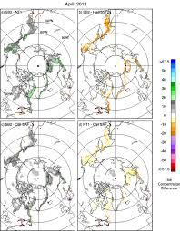 Variability And Trends In The Arctic Sea Ice Cover Results