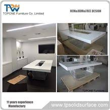 yellow office worktop marble office furniture corian. Interesting Corian Chinese Factory Supply Custom Design Artificial Marble Stone Office  Conferecne TablesAcrylic Solid Surface Meeting Tables Interior  And Yellow Worktop Furniture Corian E