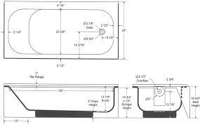 nice standard bathtub dimensions bootzcast afr above floor rough bootz industries standard bathtub
