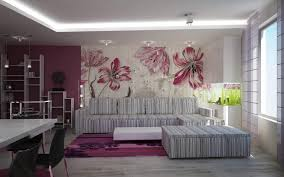 Modern Wallpaper For Living Room Inspirational Grey Fabric Living Room Sofas Ideas With White Low