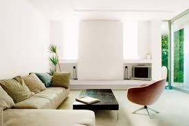 simple living room. furniture rectangle black wooden table by khaki fabric sofa on the floor and white wall interesting simple living room special for you cream brown rug o