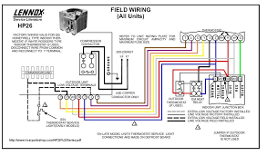 lennoshp26fieldwiringcolor lennox heat pump wiring diagram lennox discover your wiring goodman ar36 1 wiring diagram