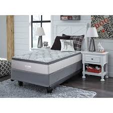 twin bed top view. Modren View Signature Design By Ashley Augusta Euro Top Twin Mattress Room View Intended Bed