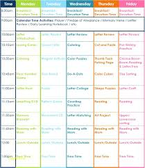 plan daily schedule preschool daily schedule template 3 year old preschool daily lesson