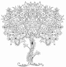 Small Picture Coloring Page Tree Miakenasnet